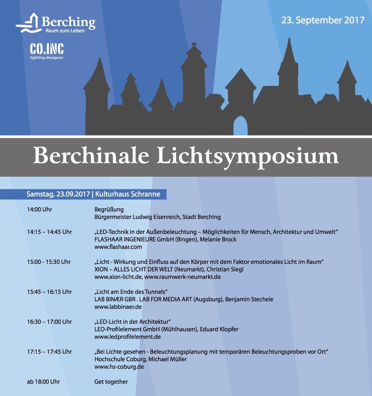 Berchinale Lichtsymposium
